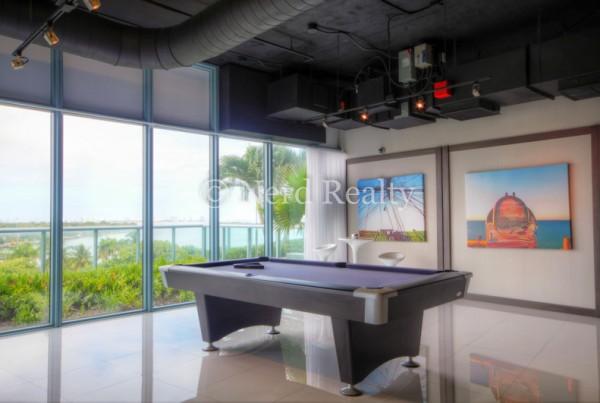 Blue Condo Miami Pool Table 2
