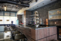 Blue Condo Miami Bar Media Room