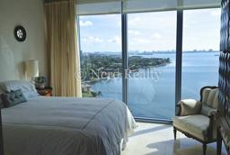 Blue Condo Miami bedroom